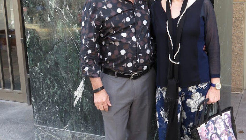 Peter and Gerda (Lawyer look-alike)