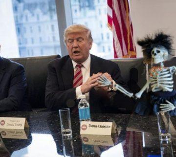 trump and dona