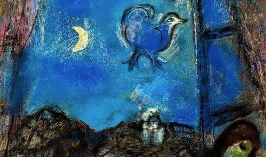 Chagall Evening at the window (1)